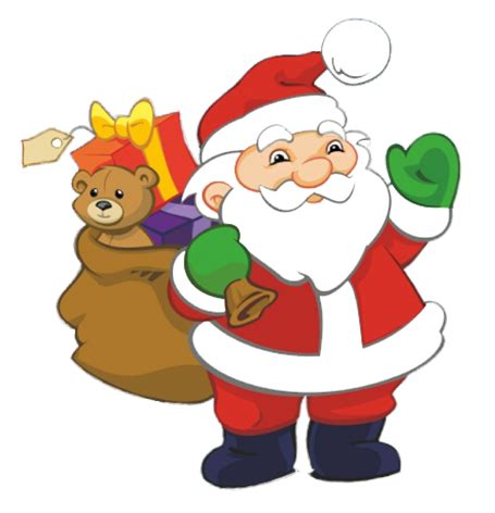 best drawi g of santa clause with chrisamas tree and free santa claus clipart
