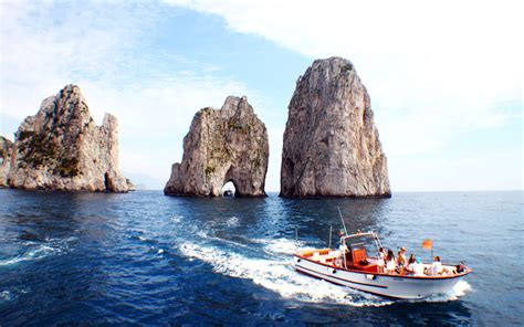 Awning Boat Boat Trips To Capri Italy Visit The Blue Grotto And Sail