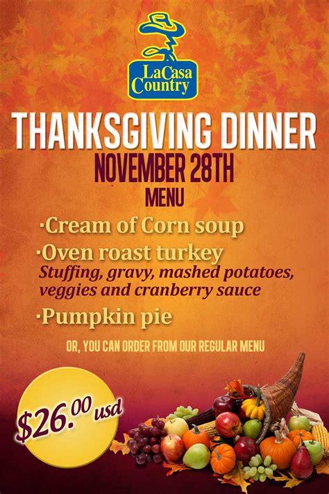 la casa country thanksgiving dinner events los cabos