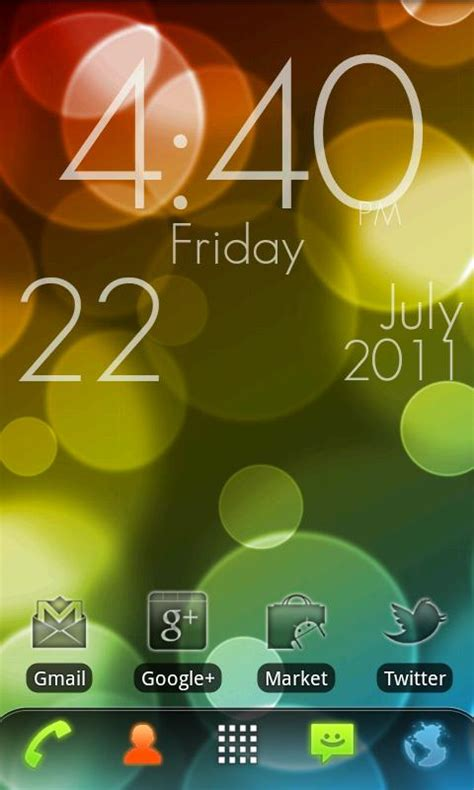 live wallpaper google edition super clock wallpaper free app android su google play