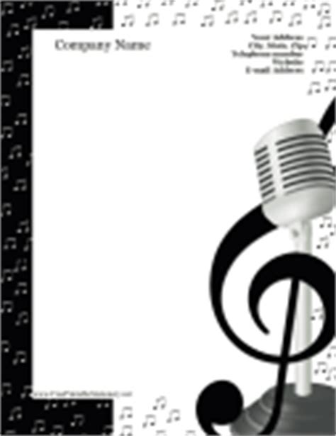 printable music stationery music stationery free printable stationery