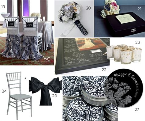 Black Silver Wedding Decorations by White And Silver Wedding Decorations Quotes