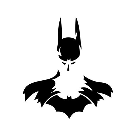 Vector Clipart For Vinyl Decal Graphics - batman graphics design svg dxf eps by