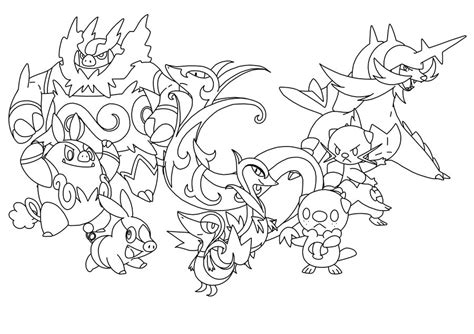 pokemon johto coloring pages starter pokemon coloring pages images pokemon images