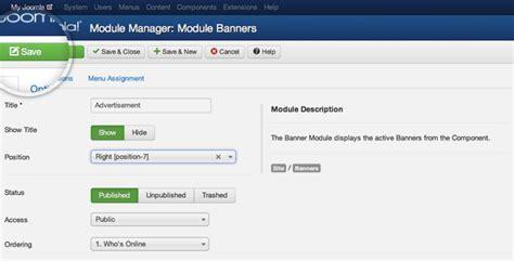 tutorial for joomla 3 3 tutorial de banners en joomla c 243 mo agregar banners a