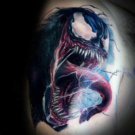 venom tattoo designs 60 venom designs for marvel ink ideas