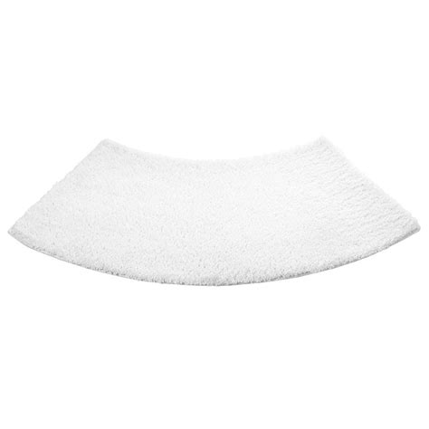 Bath Mat For Curved Shower by Lakeland Large White Curved Shower Mat Ebay