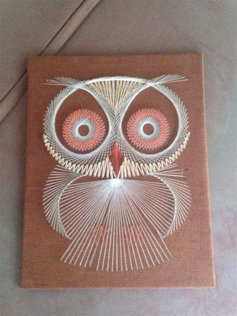 Owl String - 106 best images about owl stringart uil draadkunst on