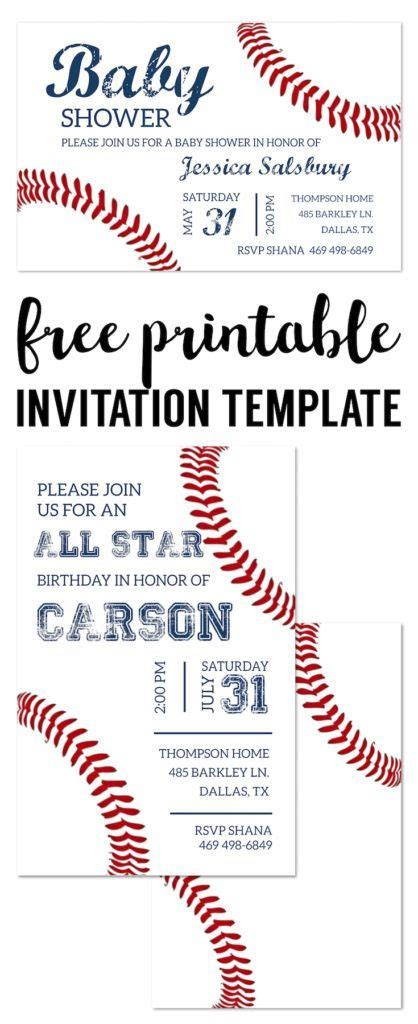 best 25 baseball party invitations ideas on pinterest