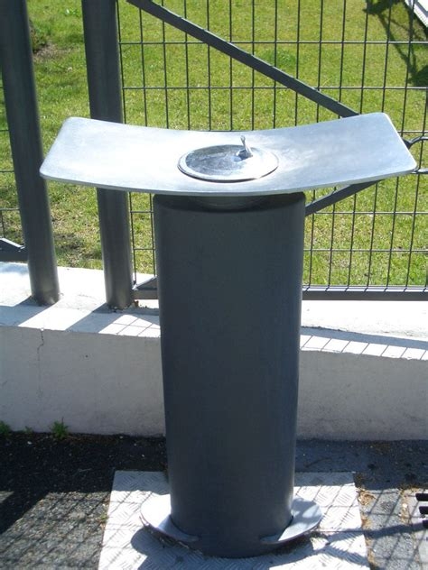 backyard drinking fountain stainless steel outdoor drinking fountain home ideas
