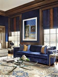 blue and brown living rooms 26 cool brown and blue living room designs digsdigs