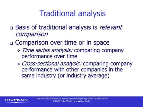 cross sectional analysis finance ppt chapter 9 financial statement analysis i powerpoint