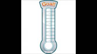 thermometer template for fundraising best photos of thermometer goal tracker goal tracking