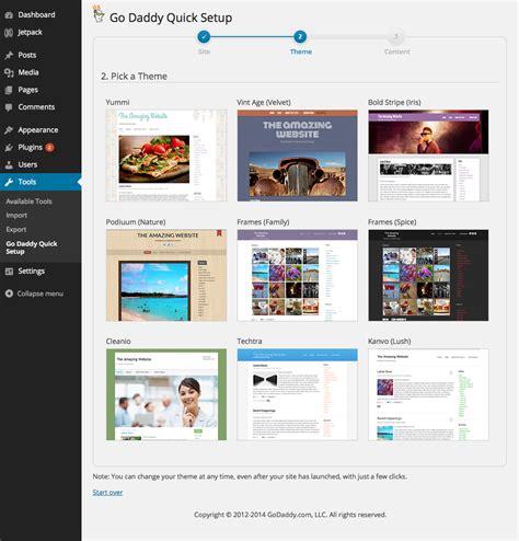 themes godaddy godaddy managed wordpress hosting review startup guide
