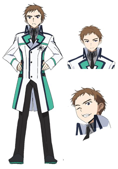 shun japanese name shun morisaki from the irregular at magic high school