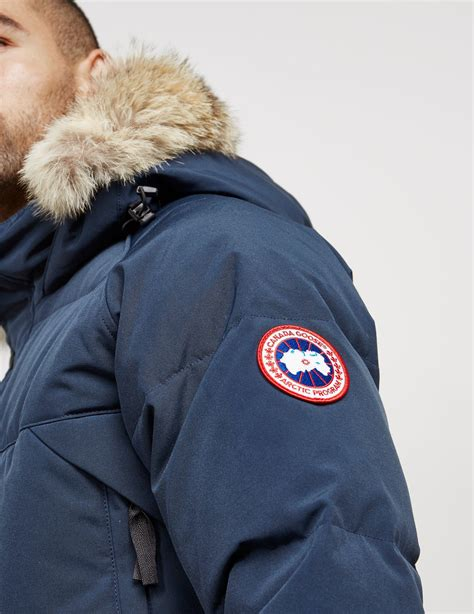 canada goose s emory parka lyst canada goose emory parka in blue for