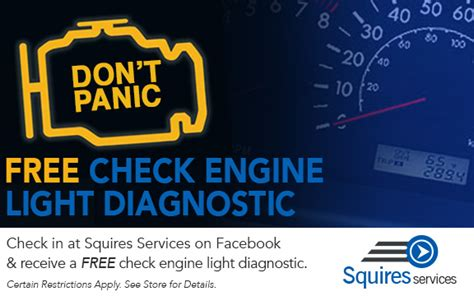Check Engine Light Free Diagnostic Test