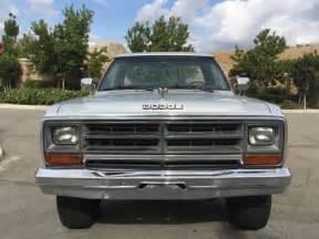 1990s Dodge Ram 1990 Dodge Ram W250 Cummins Turbo Diesel 4x4 Automatic