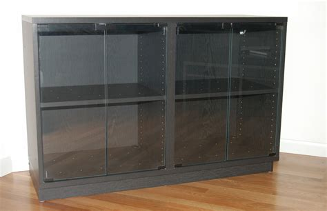 Glass Door Audio Cabinet Ikea Glass Door Stereo Cabinet Dimensions 48 Quot L X 18 Quot D X 32 Quot High 25