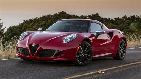 Alfa Romeo Rims by Alfa Romeo 4c With Black Rims
