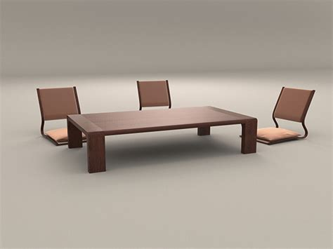 japanese style table and chairs japanese style low dining table and chair by artemishe