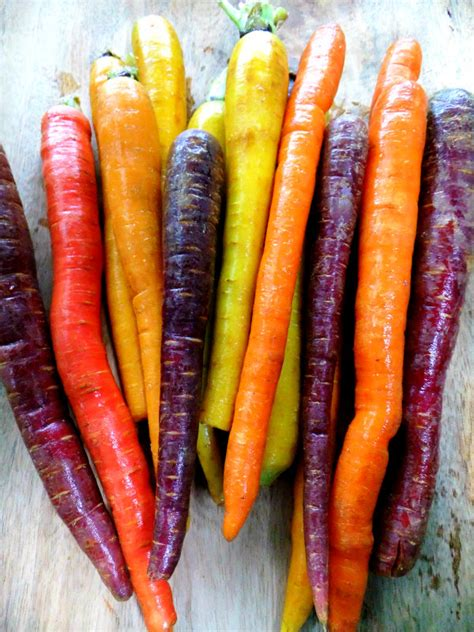 carrot colors rainbow carrot ribbon salad proud italian cook