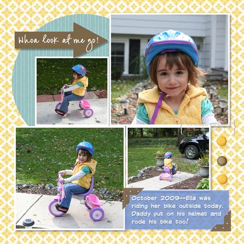 scrapbook layout cycling bike riding scrapbook pages mds creative cucina