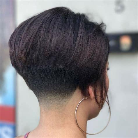 ear length bob for older women ear length wedge hairstyle 25 trending short wedge haircut