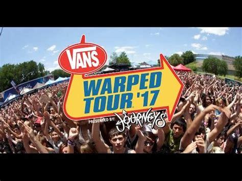 Tour Announced by 2017 Vans Warped Tour Announced Lineup X96