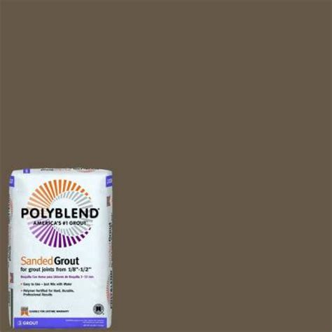 custom building products polyblend 52 tobacco brown 25 lb