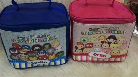 Tas Souvenir Ultah Unik Kantong Bola Tekini jual tas kubus custom goodie bag ulang tahun anak unik murah lunch bag souvenir unike