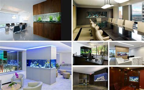 beautiful home office aquariums