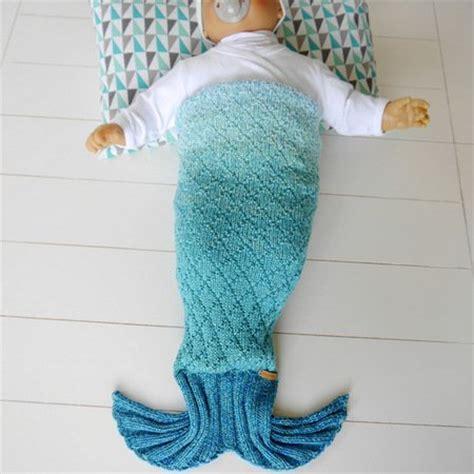 Meerjungfrauen Decke Anleitung Stricken by Strickanleitung Baby Meerjungfrauen Decke Auch F 252 R