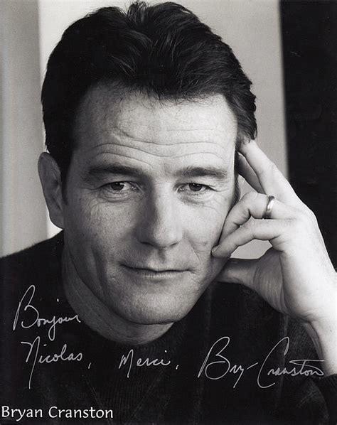 bryan cranston autograph autographed official bryan cranston portrait malcolm in