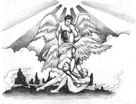 angel vs demon tattoo designs tattoos and designs page 354