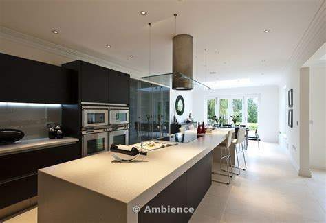 Island Kitchen Cabinets by Ambience Images View Of Minimalist Kitchen Dining Room