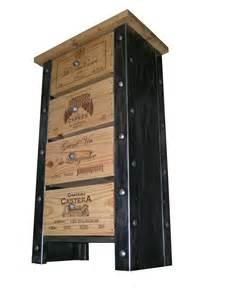 meuble caisse de vin commode semainier meuble cave
