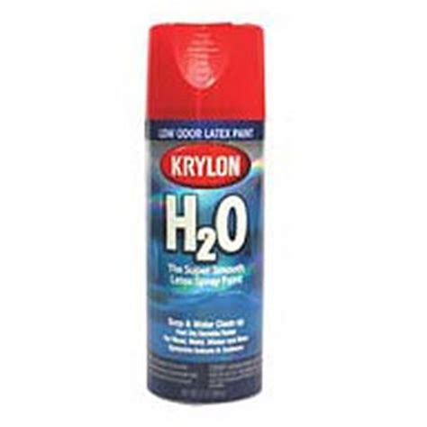 krylon ho  voc latex spray paint