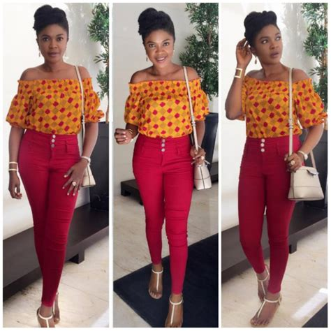 best stylish ankara wears 10 beautiful ankara tops to wear with jeans fashion and