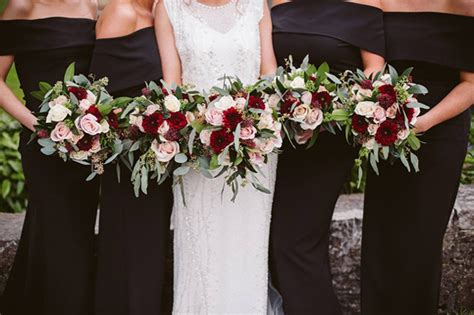 beautiful winter wedding bouquets weddingsonline