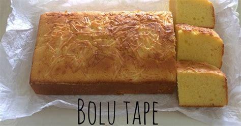 resep bolu tape resep chef yongki oleh hana friyanti cookpad