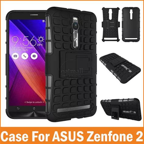 Asus Zenfone 3s Max 5 2 Hybrid Armor Kickstand new armor hybrid silicone plastic cover for asus zenfone 2 5 5 fundas back stand