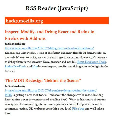 javascript pattern matching email address how to create a rss reader app in javascript organic
