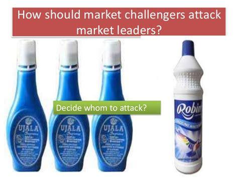 market challenger how should market challenger attack market leader