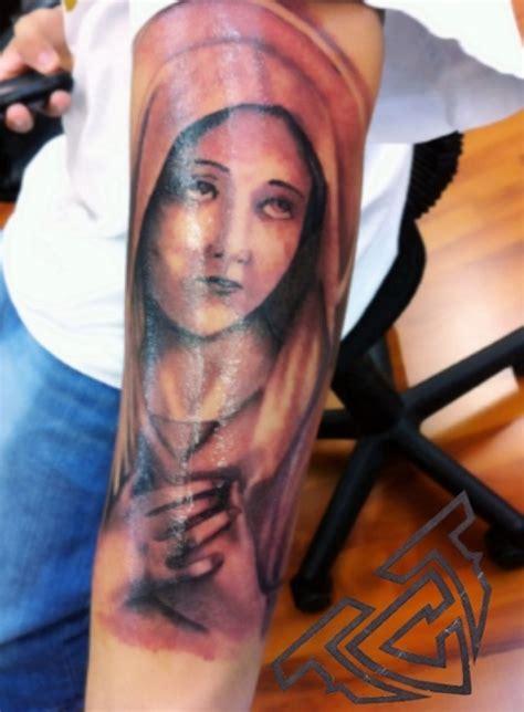 50 tatuagens com a virgem maria m 227 e de jesus cristo