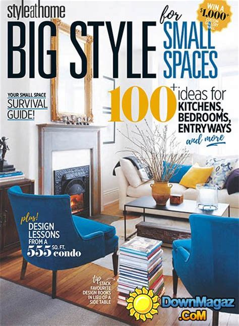 canada style at home magazine home design and style style at home ca big style for small spaces 187 download