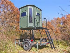 portable deer blinds portable blind stand for trailers