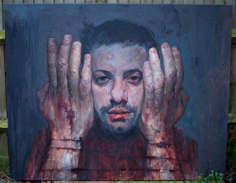 portrait painting self portrait painting by uccimaru on deviantart