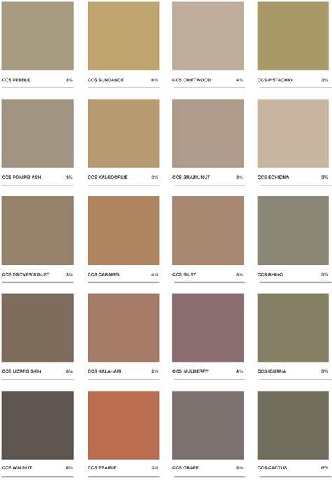 concrete color chart oxides pigments for grey concrete colour chart