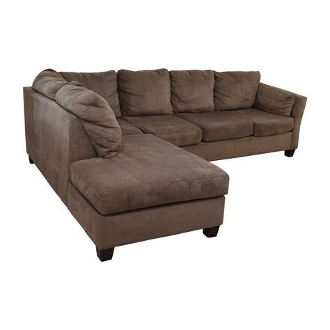 bob furniture sofa bed 52 off bob s furniture bob s furniture brown microfiber